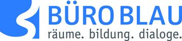 Logo von BÜRO BLAU - räume. bildung. dialoge. gemeinnützige GmbH