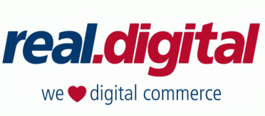 Logo von real,- Digital Payment & Technology Services GmbH